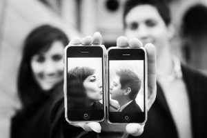iPhone kisses!