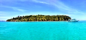 Bamboo Island, it doesn't look real!