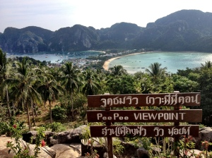 View of Phi Phi, such a beautiful Island.